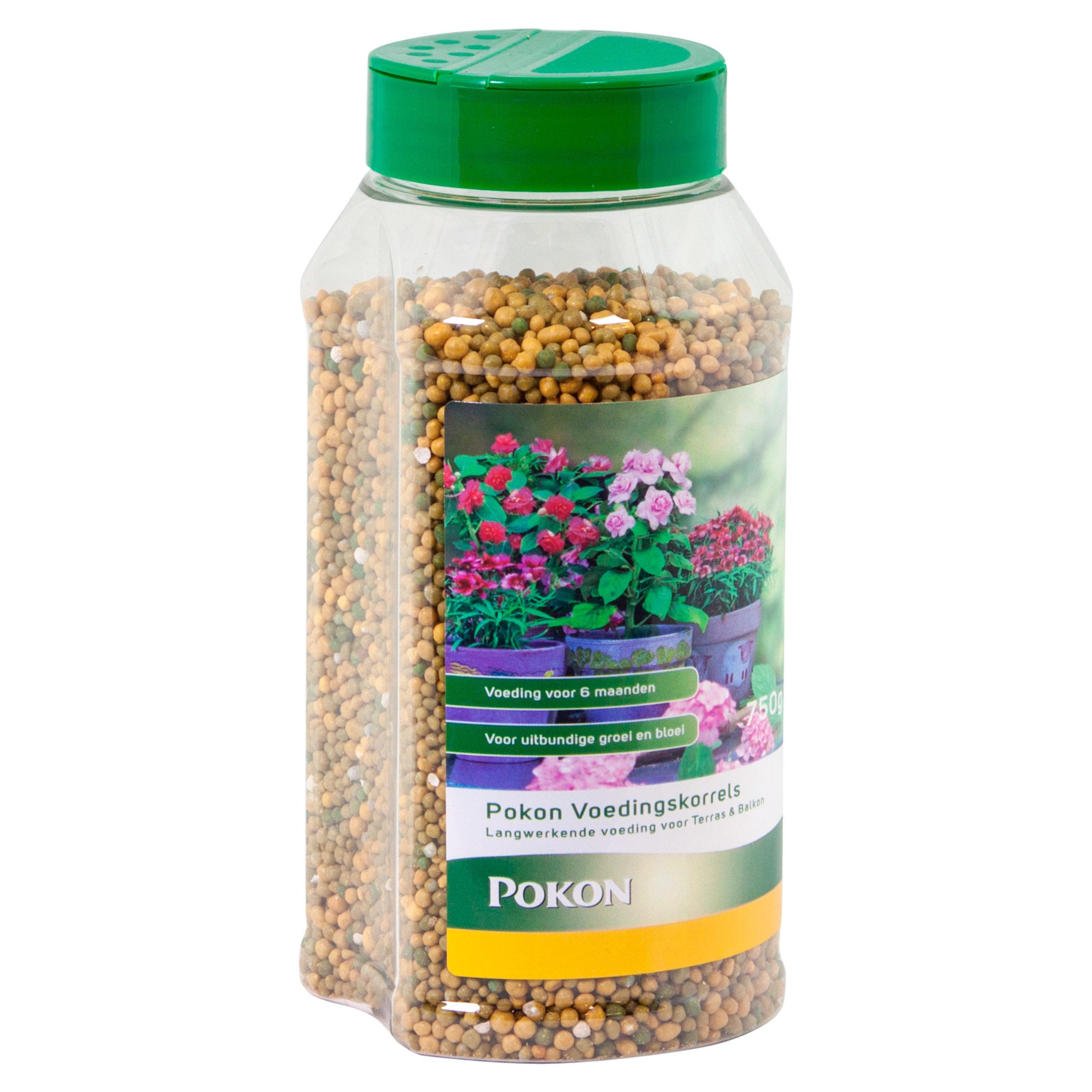 Pokon Terras & Balkon Voedingskorrels 750gr