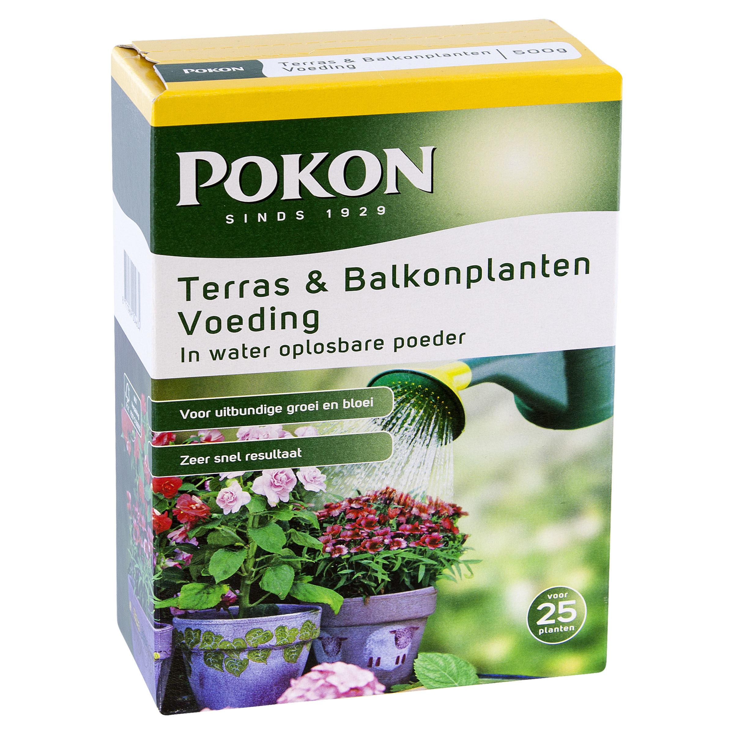 Pokon Terras & Balkon Voeding Wateroplosbaar 500gr