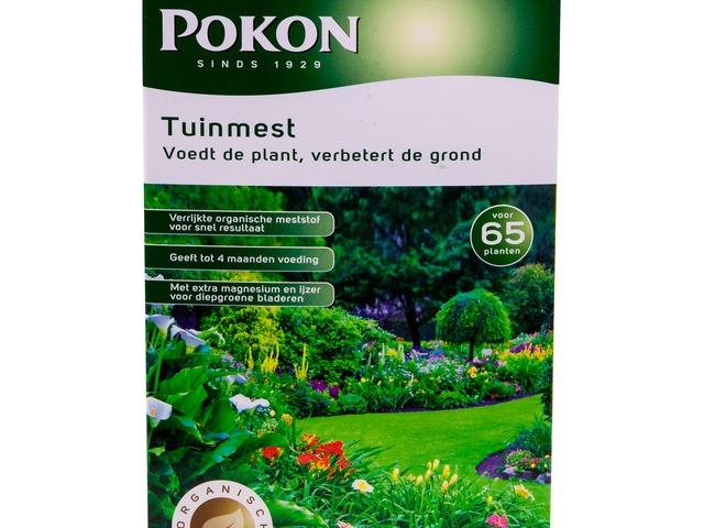 Mest Voor Tuin : Tuinmest 2 5kg pokon groen doet je goed